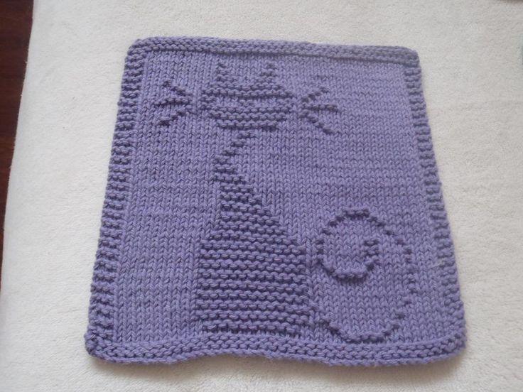 The 37 Best Cat Squares Images On Pinterest Knit Patterns