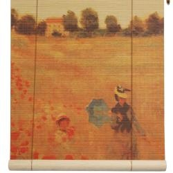 @Overstock - These stunning bamboo matchstick blinds feature an image of Claude Monet's 'Poppies, Near Argenteuil' painting. Easy to hang and operate, these blinds are handcrafted by talented artisans in China.  http://www.overstock.com/Worldstock-Fair-Trade/Bamboo-Poppies-Window-Blinds-24-in-x-72-in-China/5692976/product.html?CID=214117 $21.05