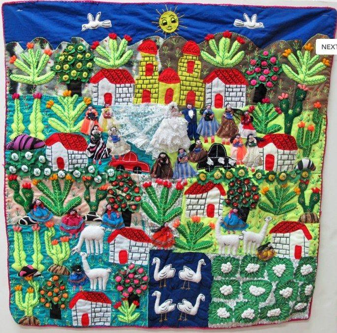 TAFA Forum | Fabric of Life Arpilleras Chili