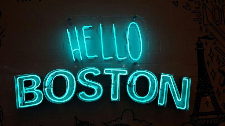 HELLO BOSTON!!