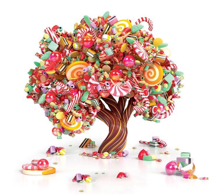 Конфетное дерево картинка для детей