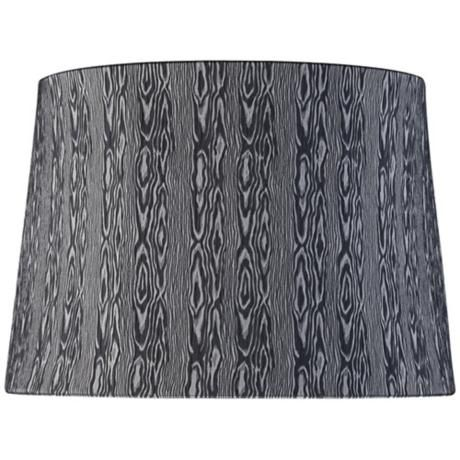 24 best lampshades images on pinterest spiders lamp shades and round blue and gray wood print shade spider aloadofball Gallery