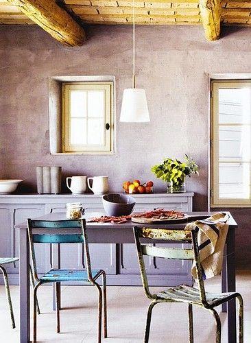 17 meilleures id es propos de peinture de cuisine la - Peinture a la chaux ...
