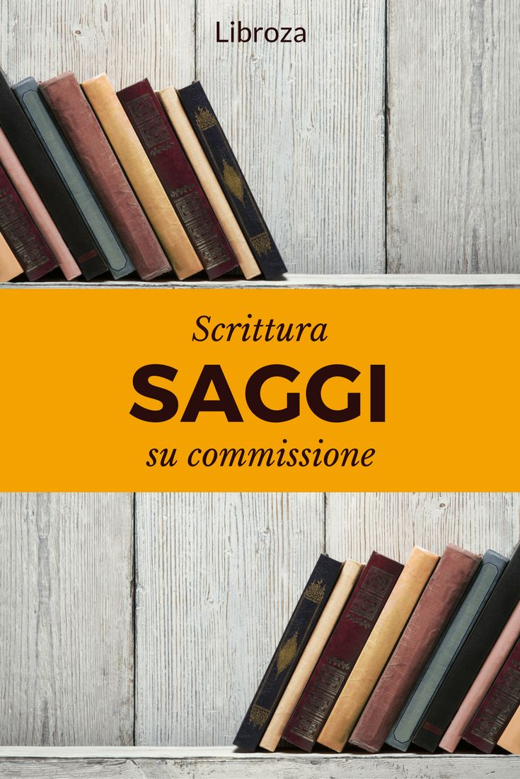 Servizio professionale di scrittura di saggi su commissione - Libroza.com