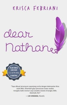 Dear Nathan #wattpad #teen-fiction