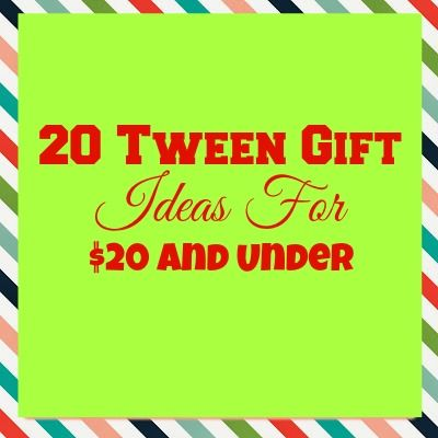 20 Tween Gifts For Under Great List The Holidays And Birthday Gift Ideas Via Blonde Mom Blog Organizing Tips Pinterest