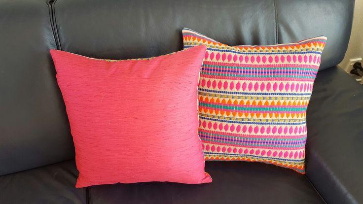 Home made cushions