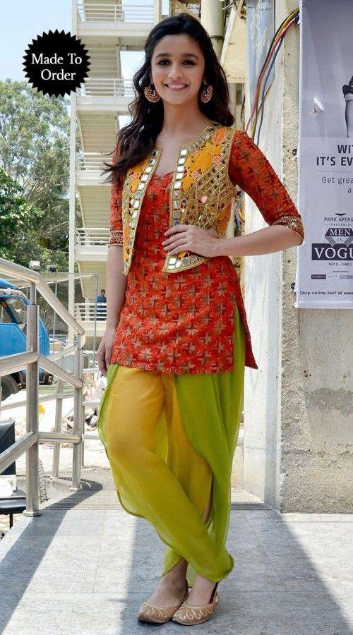 koti style dress design maria