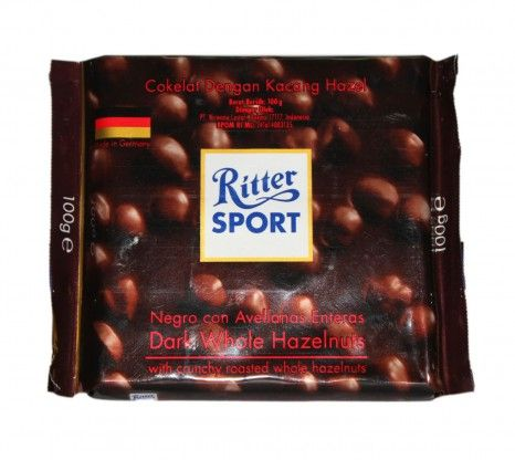 Ritter Sport Dark Whole Hazelnuts 100g at Rs.150