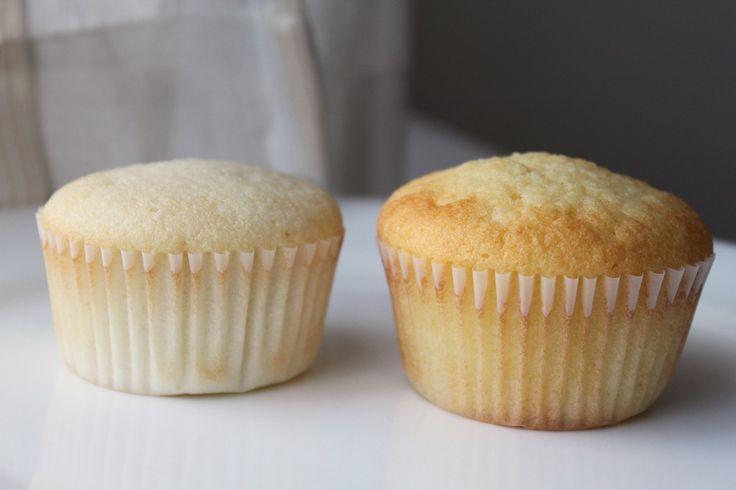 The very best white and yellow cupcake recipe