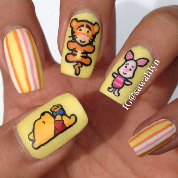 Tigger Nails: 72 Best Winnie The Pooh & Tigger 2 Images On Pinterest