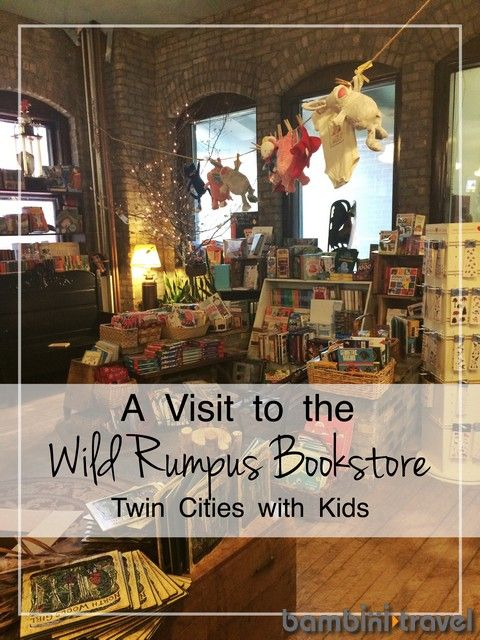 Wild Rumpus Bookstore | Twin Cities or Minneapolis with Kids | Bambini Travel
