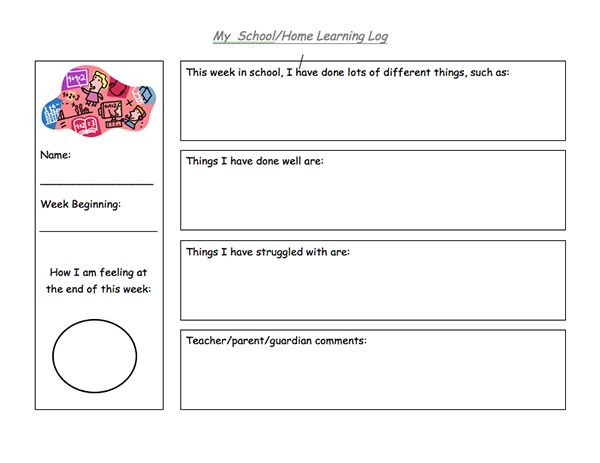 learning logs A learning log is commonly a record of the progress of one's own learning it also  has a resemblance to a personal journal this work does not necessarily mean.