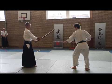 Aikido Techniques TAKN: KEN TAI JO   Part 4 ~ # 6-7 + variations