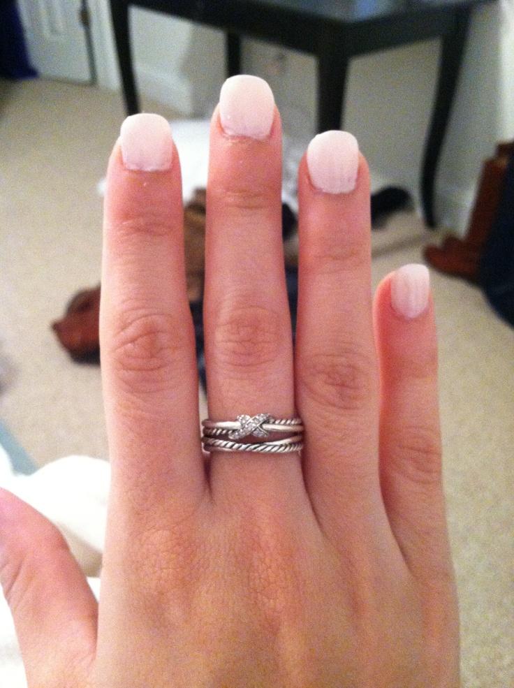 David Yurman pave diamond crossover x ring, most beautiful ...