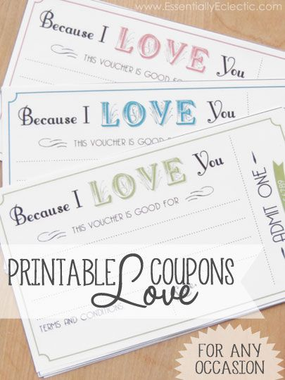 The 25+ best Love coupons ideas on Pinterest