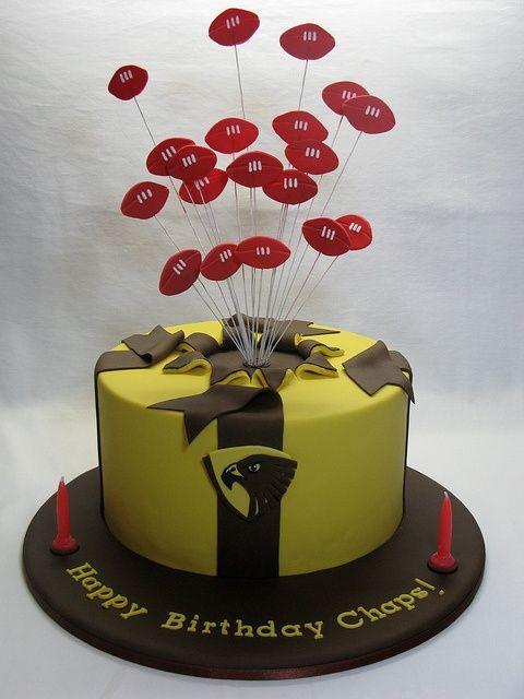 Hawthorn Hawks Cake
