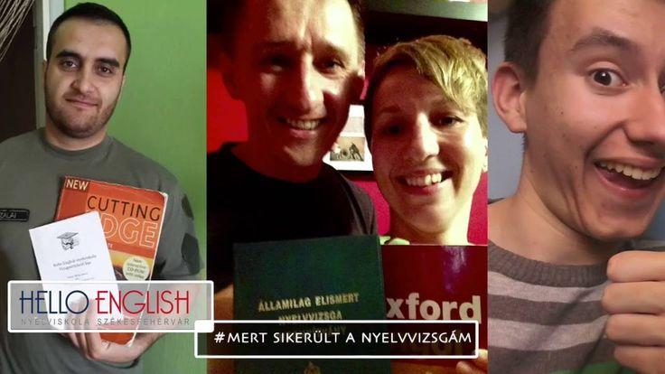 A Hello English nyelviskola tanulóinak véleménye a nyelvvizsga felkészítésről
