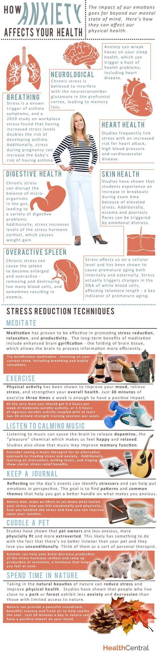 This is how anxiety is affecting your health. It's so important to reduce the stress in our lives.