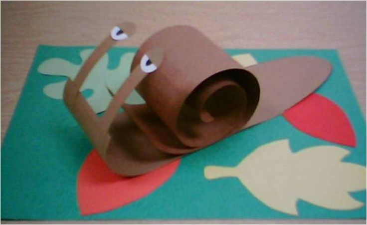 """Kindergarten Snail project project that goes along with the book """"Tiny Snail"""" by Tammy Carter Bronson."""