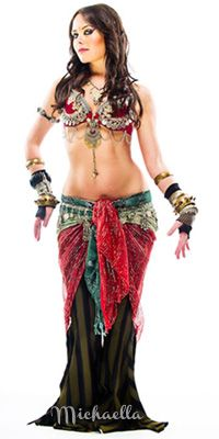 What is Tribal Fusion? From bellydance.com