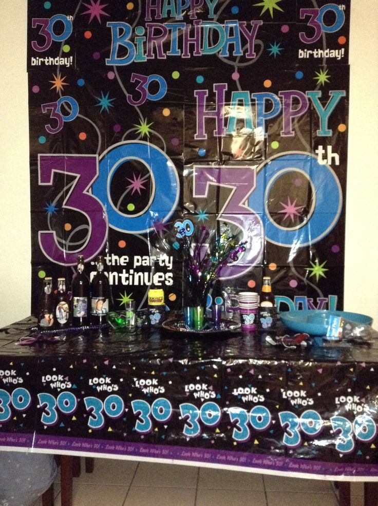 30th birthday party decorations pinterest image for 30th party decoration ideas