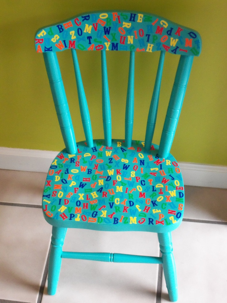 17 Best Images About Painted Kids Furniture On Pinterest