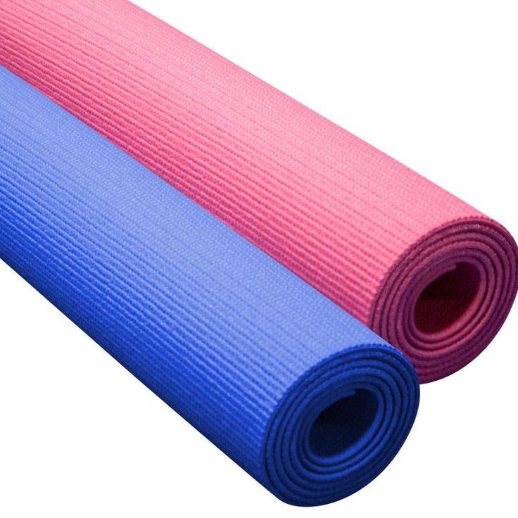 Yoga Matte 180 x 60 cm - blau und pink  Aktueller Preis 9,90 € / Stück (in Deutschland versandkostenfreier Versand). Angenehm hautsympatisch, wasserabweisende Oberfläche - schweißresistent.  #yoga #yogamatte #jogamatte #joga #sportmatte #gymnastikmatte #bodenmatte #fitness #fitnessmatte #pink #blau