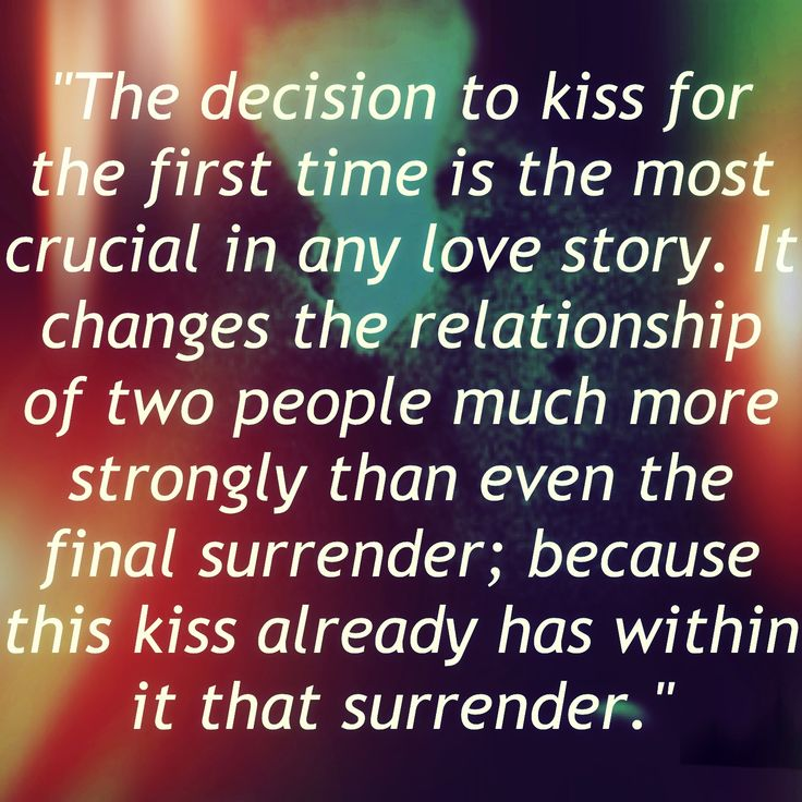 Importance of kissing in a relationship