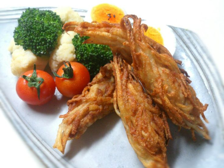 sakurako's dish photo ポテト衣に包まれたみのむし君 | http://snapdish.co #SnapDish #レシピ #簡単料理 #晩ご飯 #節約料理 #揚げ物 #おつまみ