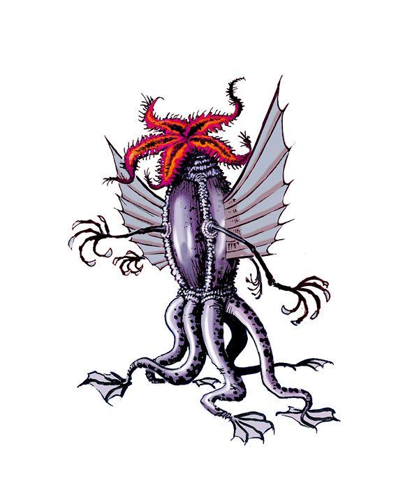 H.P. Lovecraft's Elder Things by LostonWallace: