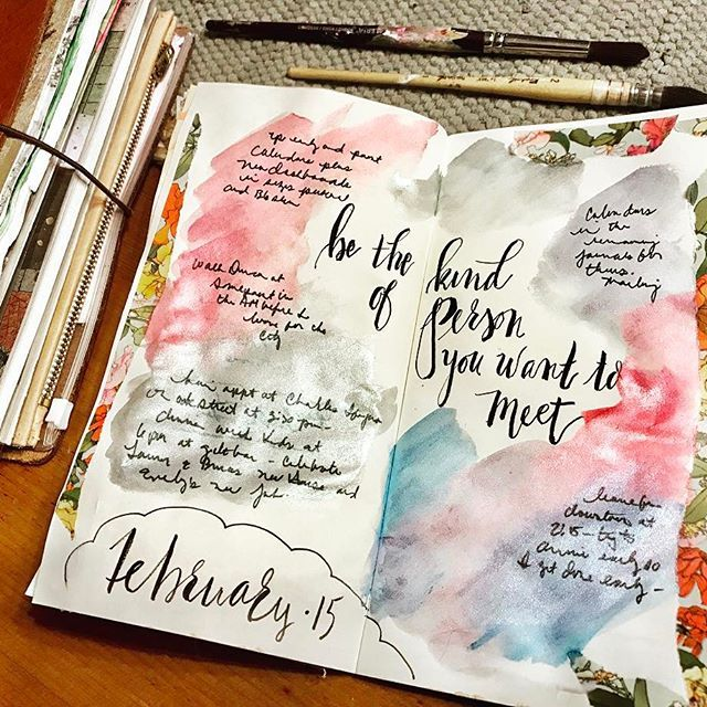 'Be the kind of person you'd like to meet - Stay true to yourself. Most importantly, always stay humble.' Wednesday! That means Hump Day! Have a wonderful day dear friends 🐪🐫💕🐫🐪💕🐪🐫💕 . . #dashboard #dashboards #travelersnotebook #journals #journallove #errandrunner #journalchallenge #calligrabasics #bulletjournaling #foxyfix #chicsparrow #midori #notebook #newbieblogger #newbieartist #inspiration #lettering #plannercommunity #pedorivienna #artjournal #abchallenge #artillustration…