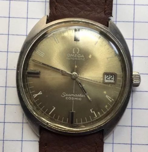 6151edfab34 Rare Vintage Swiss Made Omega SeaMaster Cosmic Cal 565 Mens Automatic  WristWatch