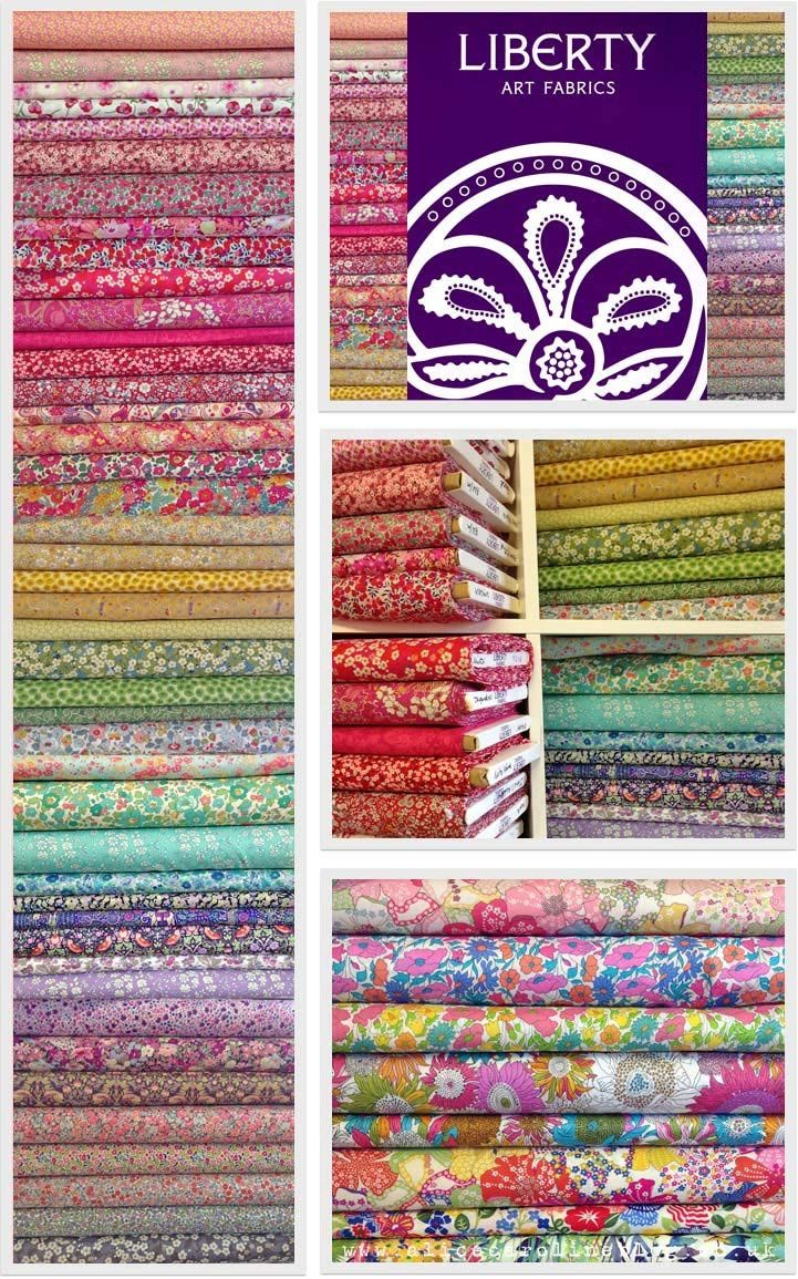 Liberty of London Tana Lawn Fabric - The Ultimate Scrap Pack - 80 Fabrics - Alice Caroline - Liberty fabric, patterns, kits and more - Liberty of London fabric online