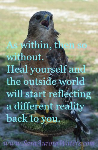 """""""As within, then so without"""" by Sara Aurora Waters"""