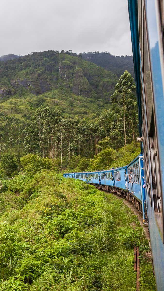 #Kandy to Ella Train, Sri Lanka