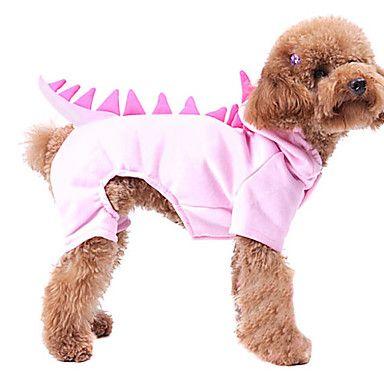 EUR € 11.99 - Grappige Leuke 3D Dinosaur Patroon Hoody Kostuum voor honden (XS-XL)