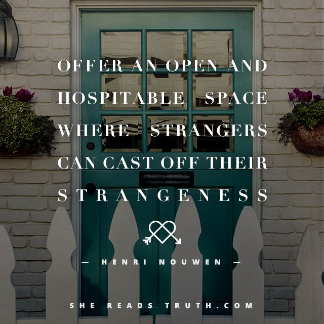 Move From Hostility to Hospitality - #SheReadsTruth | #SheReadsTruth