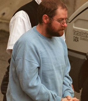 """John Justin Bunting, Australian serial killer from Adelaide, South Australia, is currently serving 11 consecutive sentences of life imprisonment without parole for his role in the murder of 11 victims. Bunting, driven to murder by his hatred for pedophiles and homosexuals, has been described as a skilled manipulator of people and """"Australia's worst serial killer""""."""