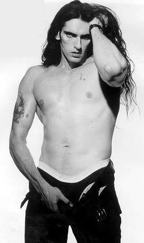 Type O Negative ~ Peter Steele  This picture was totally in my middle school locker!!