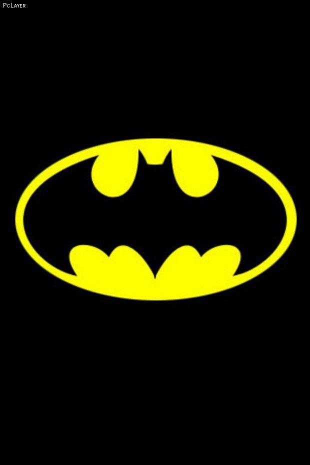 Image detail for Batman Logo Yellow Black iPhone