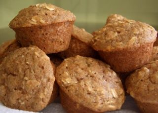 Simple & Easy Recipe For Healthy Oat Muffins | added a banana too