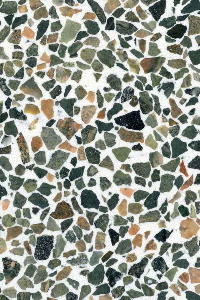 TERRAZZO RECYCLED GLASS CHIPS