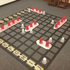 Life-Sized Battleship game!                                                                                                                                                                                 More