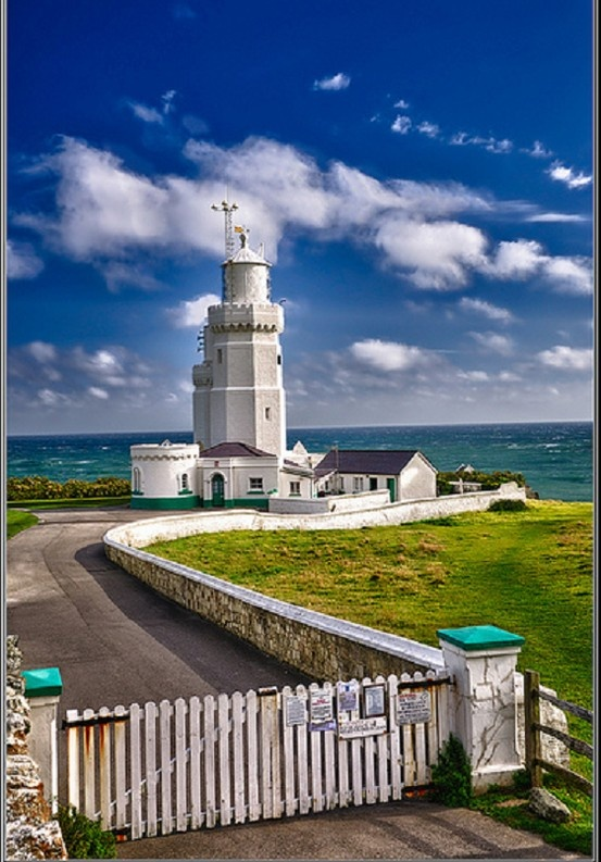 St. Catherine's Lighthouse, Isle of Wight, England