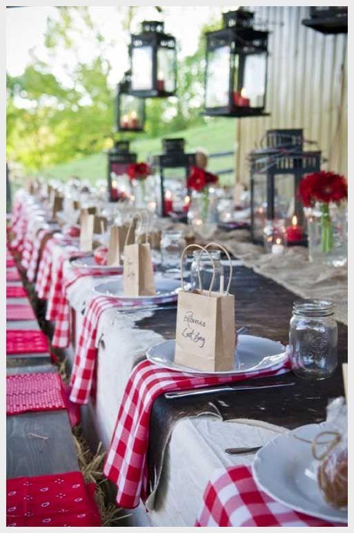 Country Western Wedding | Wedding Ideas, Western Style And Favors: country western wedding ideas
