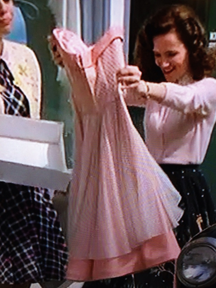 Feel back to the future bttf prom dress lorraine baines mcfly
