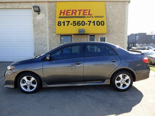 "S for Sporty! This Isn't Your Typical Corolla. This 1-Local-Owner 2011 #Toyota #Corolla Sedan features the Upgraded ""S Package"" with Alloys; Spoiler; Special Interior; Sunroof, Just 71K & a Clean Title for Only $8,990! -- http://hertelautogroup.com/2011-Toyota-Corolla/Used-Car/FortWorth-TX/10676305/Details.aspx  #toyotacorolla #hondacivic #nissansentra #firstcar #goodcar #carshopping #usedcar"
