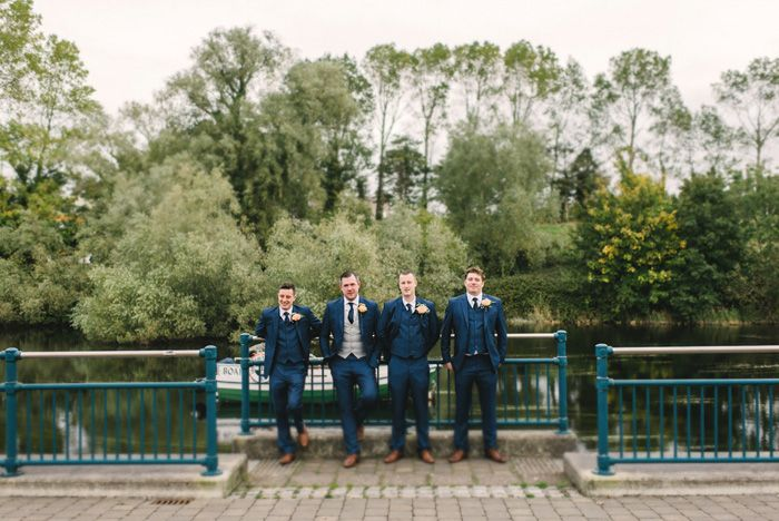 groomsmans ,groom,river,sligo