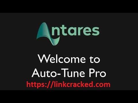 Antares AutoTune Pro 9 0 1 Crack Full Activator key Win